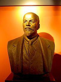 列宁人物雕塑