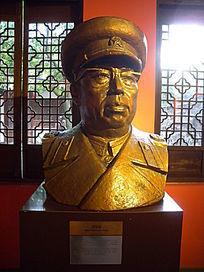 罗荣桓人物雕塑