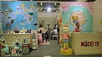 上海展会儿童卡通形象展示