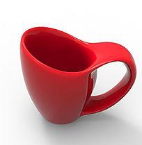 红色时尚水杯