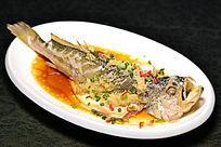 姜蓉蒸中黄鱼