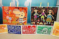 卡通儿童画展