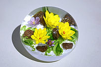 琉璃球小野花