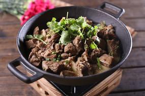 陕北铁锅炖羊肉