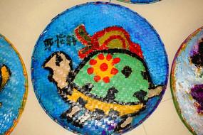 乌龟水彩画