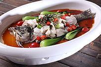 鲜花椒浸海鲈鱼