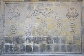 圆形图案-砖雕艺术