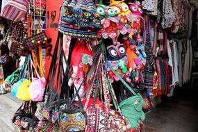 传统民间手工布包艺术照片