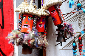 徽州民间传统手工艺玩偶照片
