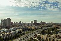 新疆城市建筑风景图