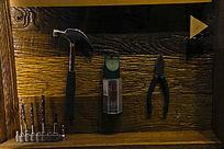 工具锤子钻头