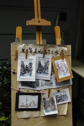 建筑艺术画板