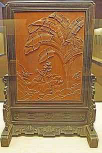 屏风装饰雕刻-木雕艺术