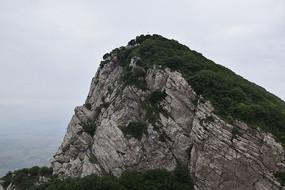 石头山峰-山川自然风景