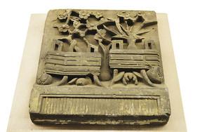 安徽植物磚雕