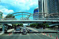 北京长安街过街天桥