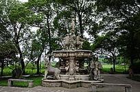汾湖公园欧式雕塑