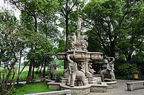 汾湖畔欧式雕塑
