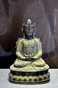 明代铜观音菩萨像