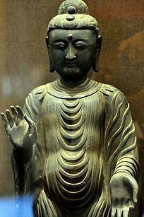 铜旃檀佛像