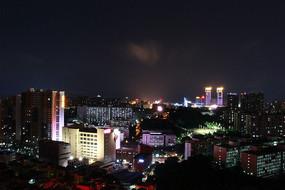 中山城市夜景