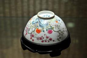 景德镇瓷梅花碗