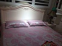 田园风卧室床