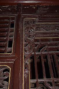 古典边角木雕-边角雕刻装饰