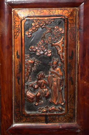 古代人物雕刻-人物木雕刻