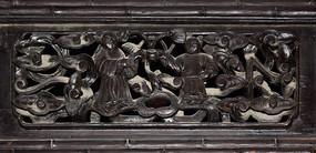 古代人物-人物木雕刻