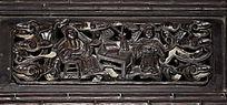 古典风格木雕-人物木雕刻