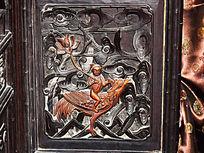 神仙人物木雕-人物木雕刻