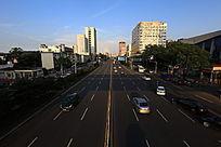 武汉体育学院的街景