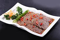 五香酱牛肉摄影图片