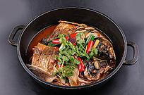 鱼头王摄影图片