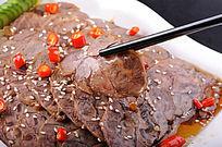 五香酱牛肉摄影大图