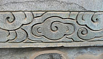 云纹石刻-简洁石雕装饰
