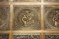 仿古铜制品纹理印花素材