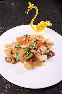 松茸菌爆黄玉参