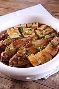 豆腐烧银鱼