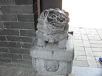古建筑装饰雕塑-石狮子
