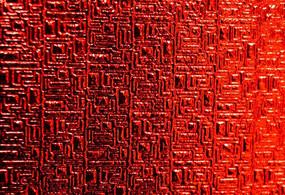 红色压纹纸