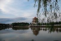 永州道县公园一景