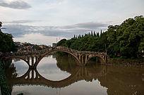 永州沙洲公园的桥