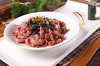 冬菜香葱蒸牛肉