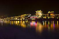 凤凰古镇夜景