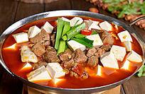 锅仔牛腩老豆腐