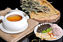 护肝菜肉汁炖辽参
