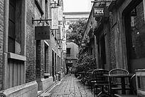 老上海弄堂街