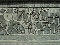 梅花树雕刻-雕刻艺术